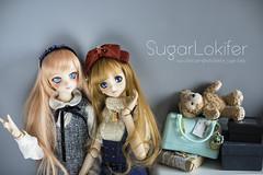 Non (caffeinated) & Affogato (Sugar Lokifer) Tags: ranka lee ddh09 09 head volks doll dollfie dream dd dollfiedream vinyl japan toy figure macross frontier dds sister