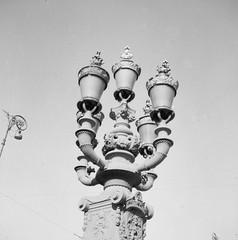 Lights (rotabaga) Tags: sverige sweden svartvitt göteborg gothenburg blackandwhite bw bwfp lomo lomography lubitel166 mediumformat mellanformat twinlens 120 6x6