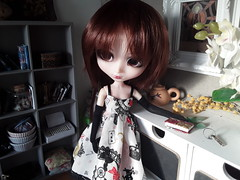 Bloody Alice Red Hood (Lunalila1) Tags: doll groove pullip bloody red hood monna kojima handmade outfit alice nunoya fabric costura