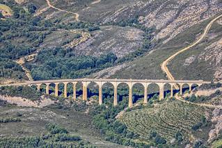 Viaduct Near Robledo, Spain