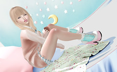 Lolita day's (kyoka jun) Tags: dirtyprincess lolita stomper princessboots hud21colors fittedmeshboots slinkhigh maitreya 2versions withsocks withoutsocks optionalanklelockattachment dubai sl secondlife secondlifefashion secondlifeblog cute kawaii