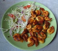 Prawns plain fry (Joegoaukfishcurry2) Tags: joegoauk goa fish