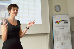 PATAT 2018: Hana Rudova (Vienna Center for Logic and Algorithms at TU Wien ) Tags: patat tuwien technology teaching it student nysret musliu hana rudova johannes gärtner scheduling computer science conference research vienna university wien austria andrea schaerf professor mathematics mathematical logic automated schedule algorithms algorithm