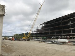 New Building - 500 Mero St. - Frankfort KY (primemover88) Tags: office building construction steel kentucky frankfort