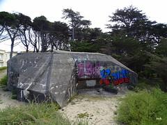 Bunker à la pointe de Pen Bron (mchub) Tags: bunker laturballe hx400v loireatlantique paysdelaloire presquîleguérandaise