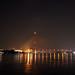Rama VIII Bridge - Chao Phraya River, Bangkok, Thailand 2018