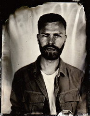 James (fitzhughfella) Tags: wetplate tintype tinplate collodion ether silvernitrate largeformat 4x5 graflexspeedgraphic kodakaeroektar