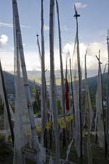 Thimphu Viewpoints Prayer Flags (William J H Leonard) Tags: thimphu bhutan bhutanese southasia southasian summer sunny travel travelphotography travelling buddhist buddhism buddhisttemple prayer prayerflags prayers prayerflag mountain mountains