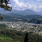 Feldkirch Tosters Rheintal aufwärts Richtung Süden