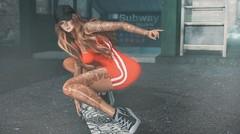 Boardin Now on Platform 4 (Kess Crystal @ The Glamour Sauce) Tags: secondlife sl slgirls slfashion vr virtualreality virtualgirls virtualfashion vanityevent carolg cynful c88 collabor88 westend cosmopolitan nightfall blogging bloggers blog slblog female girls skateboard urban