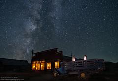 Truck Stop (Rick Whitacre) Tags: bodiestatepark bodie lightpainting milkyway nightphotography stars