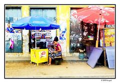 street vendor ladies (harrypwt) Tags: harrypwt city africa afrika fujix70 x70 ghana accra street people