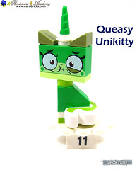 11) Queasy Unikitty (WhiteFang (Eurobricks)) Tags: lego bind bags unikitty series 1 brick built animals kitty puppy box colourful vibrant sunshine cheerful fun pink