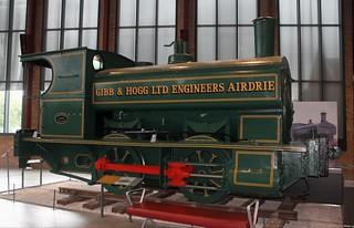Gibb & Hogg: 11 0-4-0ST Summerlee - Museum of Scottish Industrial Life