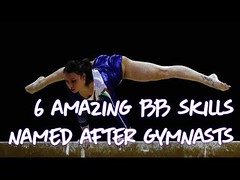Gymnastics - 6 Amazing BB skills Named After Gymnasts (SpringWind46) Tags: gymnastics artistic sports