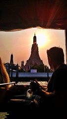 ..why we came.. (Ferry Octavian) Tags: lg g4 smartphone phone cameraphone android handheld manual metro metropolis city building skyscraper tower architecture design structure exterior icon landmark dusk sunset sun sky skyline horizon golden hour beautiful portrait thailand thai bangkok capital asia south east sea southeast riverfront buddha temple carving stonecraft traditional wat arun chao praya boat tourist tourism street shot travel trip noflash explore color colour outdoor