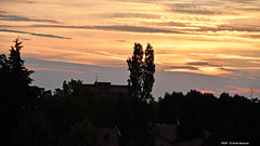 The first appearance of light in the sky before sunrise 2. (Paolo Bonassin) Tags: alba sunrise clouds nubi wolke sky