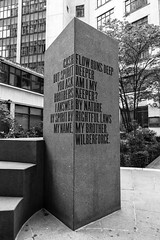 Tribute to William Wilberforce (dlsmith) Tags: london wilberforce slavery monochrome monochromatic bw byn cityoflondon