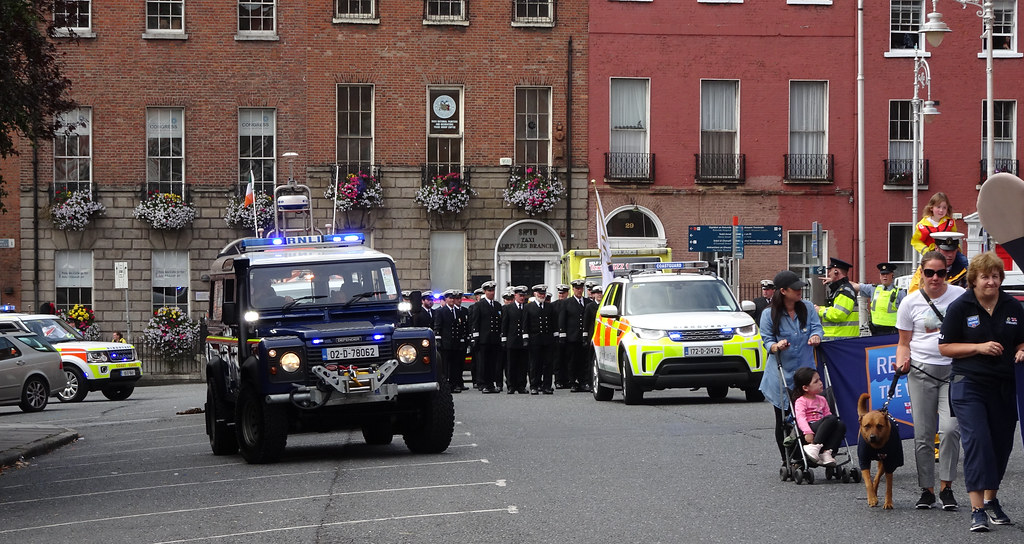 NATIONAL SERVICES DAY [PARADE STARTED OFF FROM NORTH PARNELL SQUARE]-143568