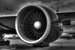 GE90 (pbuschmann) Tags: b777 ge90 engine turbine jet powerful britishairways ba lhr heathrow round