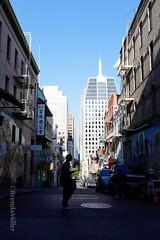 Chinatown - San Francisco, California (bMi2fotografx) Tags: sky street cars buildings architecture cityscape chinatown sanfrancisco