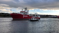 Fugro Galaxy - Aberdeen Harbour Scotland - 11/9/18 (DanoAberdeen) Tags: amateur aberdeen aberdeenscotland abdn aberdeenharbour aberdeencity scotland summer scottish seafarers seaport danoaberdeen danophotography docks footdee fittie grampian geotagged gb harbour lifeatsea maritime merchantnavy northsea northeast northseasupplyships bluesky boats boat vessels video candid cargoships szkocja abz dock spring schotland shipspotting fugrogalaxy northeastsupplyships northeastsupplyvessels northeastscotland workboats shipspotters worldwideshipspotters fugro pocraquay torry