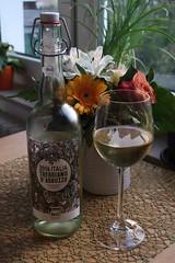 Trebbiano D'Abruzzo (italienischer Bio-Weißwein) (multipel_bleiben) Tags: essen weiswein alkoholika flasche bio