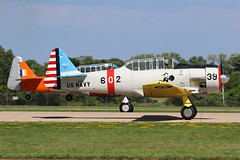 N3261G, T6 Texan, Oshkosh 2018 (ColinParker777) Tags: t6 harvard at6 at6g texan north american usaf air force classic warbird united states navy takeoff departure formation display shiny at6f pair duo osh oshkosh kosh eaa experimental aviation association airventure 2018 airplane aircraft military aeroplane plane piston radial engines trainer canon 7d 7d2 7dmk2 7dmkii 7dii 100400 lens pro zoom telephoto wisconsin wi usa cockpit n3261g 602 39 snj5