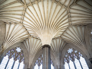 Wells Cathedral Celing Details