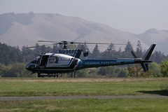 The eagle has landed (gsmper) Tags: quarrylakes regionalpark california fremont park helicopter transportation police nature sony sigma art mc11