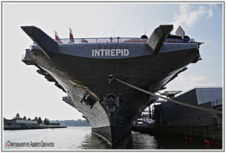 USS INTREPID 75TH COMMISSIONING ANNIVERSARY. NEW YORK CITY.