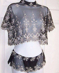 #Lingerie: #Lingerie: Vintage sheer black embroidered top and brief - that lace is amazing! https://buff.ly/2LLJLTu https://buff.ly/2LL9xay https://ift.tt/2LNgKHf https://ift.tt/2pf9jAj (scentedsins) Tags: ladylingerie ifttt flickr june 15 2018 0901pm lady lingerie vintage sheer black embroid