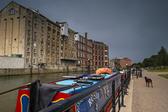 Vibrant (James Etchells) Tags: bath city heritage somerset river avon boat boats path sky clouds water structure building buildings architecture colour color vibrant nikon lee filters photography urban cityscape long exposure leading lines depth view exploration exploring people