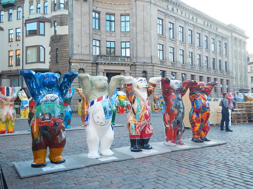 United Buddy Bears exhibition, Riga, Latvia
