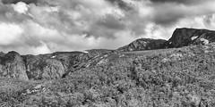 Footprints on the other side (Keith Midson) Tags: cradlemountain tasmania mountain ridge clouds cloud sky wilderness