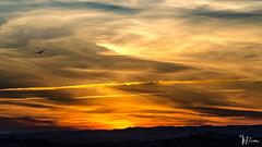 _DSC0650 (Miguelo.) Tags: azul nubes puestadesol atardecer naranja paisaje clouds sunset