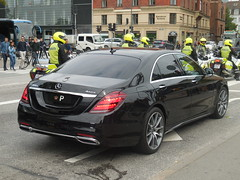 Crown Prince of Denmark official Mercedes 400D (sms88aec) Tags: crown prince denmark official mercedes 400d