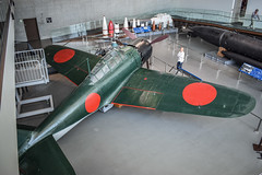 Mitsubishi A6M Zero (nikousen94) Tags: kure maritime museum yamato type 3 shell mitsubishi a6m zero fighter aircraft bomber