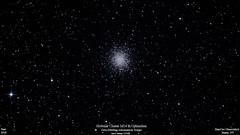 M14_June2018_HomCavObservatory_ReSizedDown2HD (homcavobservatory) Tags: homcav observatory globular cluster m14 ngc 6402 ophiuchus 8inch f7 criterion newtonian reflector canon 700d t5i dslr losmandy g11 mount gemini 2 control system 80mm f6 celestron shorttube refractor zwo asi290mc autoguider phd2 stacked