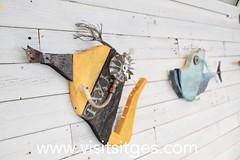 Exposició al Club Nàutic de Noni Font Sitges 2018 (Sitges - Visit Sitges) Tags: exposició exposición escultura esculptura criatures reciclades peixos club nàutic sitges 2018 visitsitges reciclatge art arte reciclaje noni font
