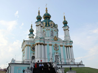KIEV, St. Andrew orthodox church