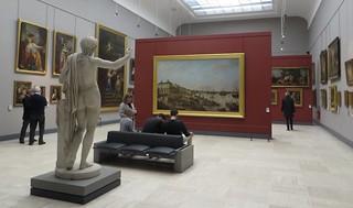 Salles des peintures classiques  XVIIIe-XIXe, Musée des Beaux-Arts, Bordeaux, Nouvelle-Aquitaine, France.