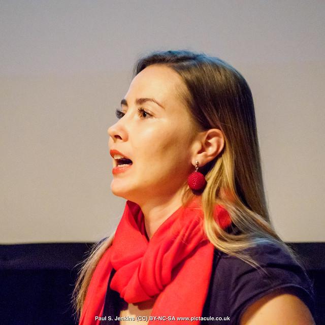 P8300154 Joanna Bagniewska at Winchester Skeptics
