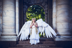 PS108872 (Patcave) Tags: dragon con dragoncon 2018 dragoncon2018 cosplay cosplayer cosplayers costume costumers costumes sailor moon senshi neo queen serenity princess supersenshi anime manga usagi wings white