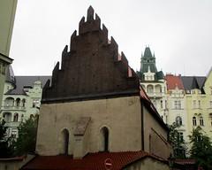 Prague, Czech Republic (LuciaB) Tags: prague czechrepublic jews jewishheritage oldnewsynagogue gothic