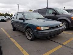 Mazda 323 hatchback (dave_7) Tags: mazda 323 hatchback car