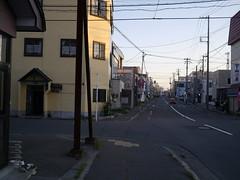 A morning street (しまむー) Tags: panasonic lumix dmcgx1 gx1 g 20mm f17 asph trip train yuri highland railway 由利高原鉄道