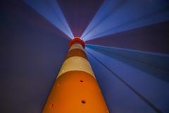 Lichtspiel (SonjaS.) Tags: lichtspiel leuchtturm lighthouse lichter farben colors westerheversand weterhever schleswigholstein deutschland germany weitwinkel