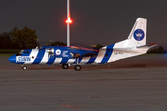 LZ-FLL Edwin Air Cargo Antonov AN-26B (buchroeder.paul) Tags: edde erf erfurt airport germany ground night lzfll edwin air cargo antonov an26b