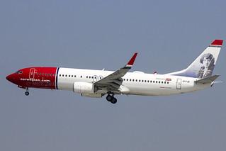 EI-FJE | Norwegian Air International | Boeing B737-8JP(WL) | CN 39420 | Built 2011 | DUB/EIDW 28/05/2018 | ex LN-NOZ
